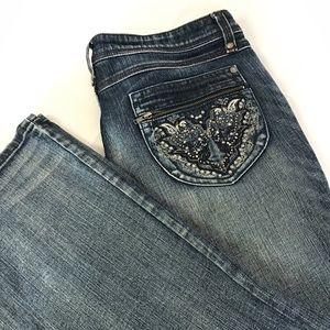 "Harley Davidson Women's Jeans Sz 6 Inseam 29 1/2"""